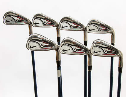 Nike Victory Red Pro Cavity Iron Set 4-PW Project X 5.5 Graphite Stiff Right Handed 37.5 in