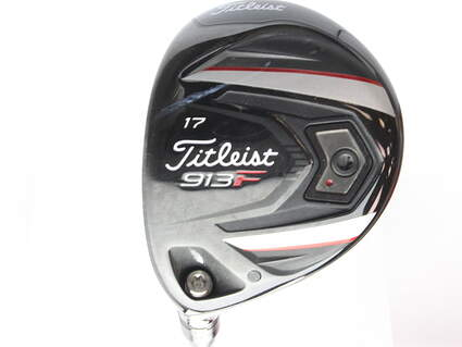 Titleist 913F Fairway Wood 4 Wood 4W 17* Titleist Bassara W 45 Graphite Ladies Left Handed 41.5 in