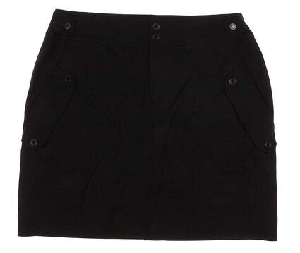 New Womens Ralph Lauren Golf Shoreview Skort Size 10 Black MSRP $125 3861762