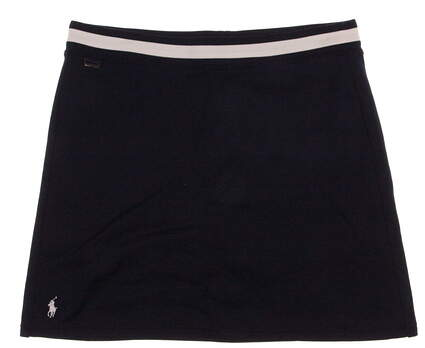 New Womens Ralph Lauren Golf Skort Size Large L Navy Blue MSRP $125 0445923
