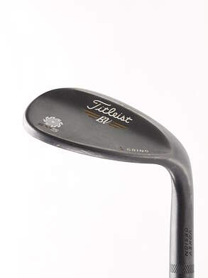 Titleist Vokey SM5 Raw Black Wedge Lob LW 4 Deg Bounce Nippon NS Pro Modus 3 Tour 120 Steel X-Stiff Right Handed 35.5 in