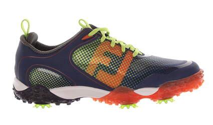 New Mens Golf Shoes Footjoy Freestyle Medium 9.5 Blue MSRP $160 57332