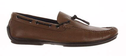 New Mens Golf Shoes Peter Millar Loafer Medium 9.5 Tan MSRP $300 MS16F07