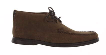 New Mens Golf Shoe Peter Millar Suede Boot Medium 10.5 Brown MSRP $245 MF16F04