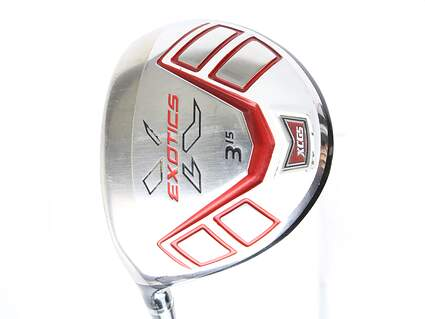 Tour Edge Exotics XCG5 Fairway Wood 3 Wood 3W 15* Accra DyMatch 2.0 MT 70 Graphite Regular Left Handed 42.5 in