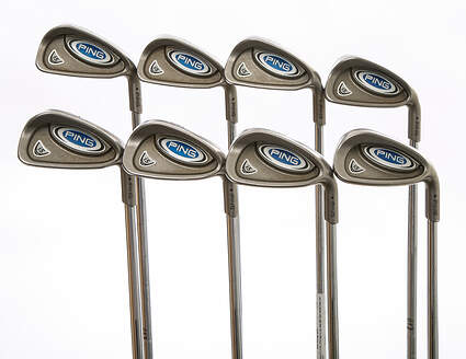 Ping i5 Iron Set 3-PW Ping CS Lite Steel Stiff Right Handed Black Dot 38 in