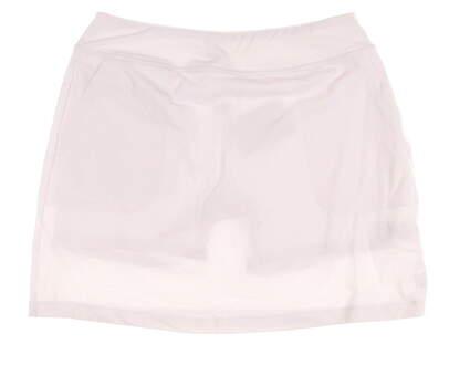 New Womens Footjoy Golf Performance Knit Skort Size Medium M White MSRP $85 23459