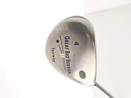 Callaway Great Big Bertha II Fairway Wood 4 Wood 4W Callaway GBB System 60 Graphite Regular Right Handed 43.25 in