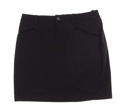 New Womens Ralph Lauren Golf Skort Size 4 Black MSRP $125