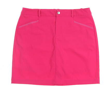 New Womens Ralph Lauren Golf Skort Size 8 Pink MSRP $125