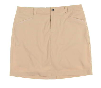 New Womens Ralph Lauren Golf Skort Size 8 Tan MSRP $125