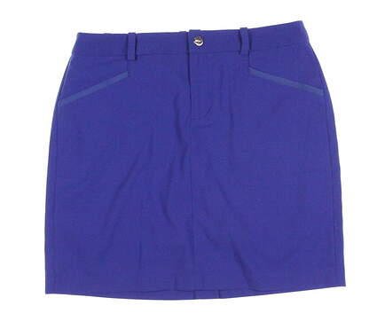 New Womens Ralph Lauren Golf Skort Size 4 Blue MSRP $125
