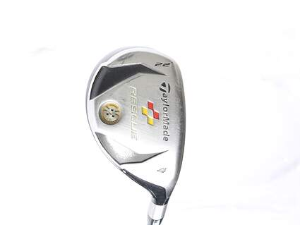 TaylorMade 2009 Rescue Hybrid 4 Hybrid 22* Fujikura Fit-On Max 76HB Graphite Stiff Right Handed 39.75 in