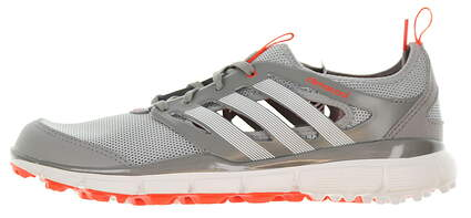 New Womens Golf Shoe Adidas Climacool II Medium 8.5 Gray / White / Red MSRP $90 Q46729
