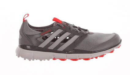New Womens Golf Shoe Adidas Climacool II Medium 7 Gray / White / Red MSRP $90 Q46729