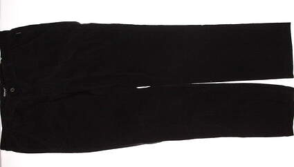 New Mens Abacus Sportswear Golf Scilly Trousers Corduroy Pants 38x34 Black MSRP $95 2368 600