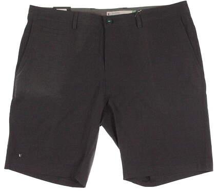 New Mens LinkSoul Golf Solid Boardwalker Short Size 40 Gray MSRP $72 LS651