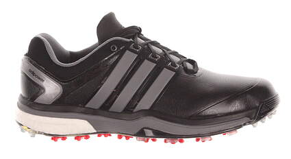 New Mens Golf Shoes Adidas Adipower Boost Medium 9 Black Q46753 MSRP $200