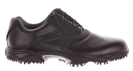 New Mens Golf Shoes Footjoy Contour Medium 10 Black 54094 MSRP $100