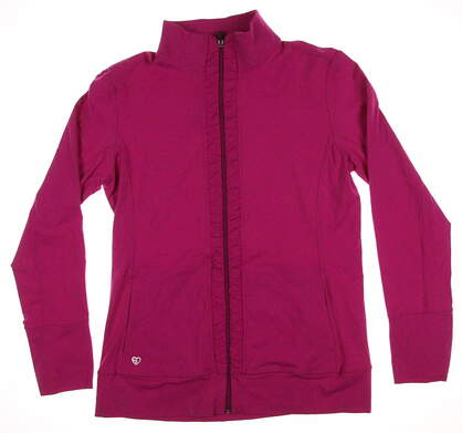 New Womens Straight Down GOlf Lovely Jacket X-Large XL Pink MSRP $95 W60237