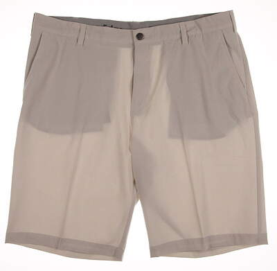 New Mens Adidas Golf Ultimate Shorts Size 38 Tan MSRP $65 AE4193
