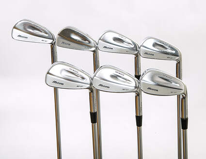 Mizuno MP 67 Iron Set 4-PW Project X Rifle 5.5 Steel Stiff Right Handed 38 in