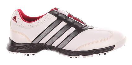 New Womens Golf Shoe Adidas Response BOA Medium 8.5 White/Black MSRP $70