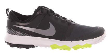 New Mens Golf Shoe Nike FI Impact 2 Medium 9.5 Black/Green MSRP $140