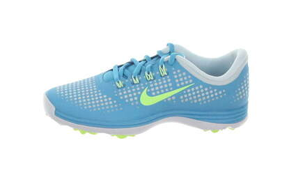 New Womens Golf Shoe Nike Lunar Empress Medium 6.5 Blue MSRP $100
