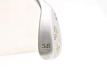 Cleveland 2012 588 Satin Wedge Lob LW 58* 12 Deg Bounce True Temper Tour Concept Steel Wedge Flex Right Handed 35.5 in