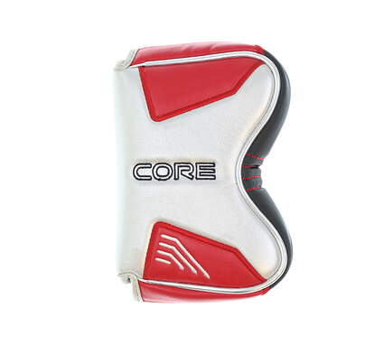 Nike Method Core Drone Putter Headcover Silver and Red Golf HC