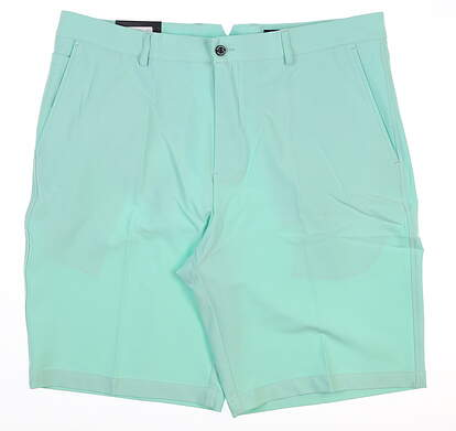 New Mens Dunning Golf Players Fit Solid 4-Way Stretch Woven Shorts Size 36 Green MSRP $79 D7S13H055