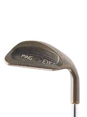 Ping Eye 2 Beryllium Copper Wedge Sand SW Ping Microtaper Steel Regular Right Handed Blue Dot 35 in