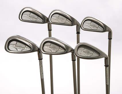 Callaway X-14 Iron Set 4-5 7-9 SW Callaway Gems Steel Ladies Right Handed 37.5 in