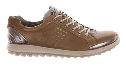 New Mens Golf Shoe Ecco BIOM Hybrid 2 44 (10/10.5) Brown MSRP $200