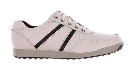 New Mens Golf Shoe Footjoy Contour Casual Medium 10 White MSRP $140