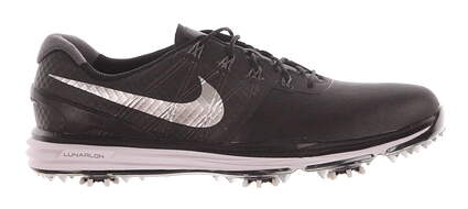 New Mens Golf Shoe Nike Lunar Control III 10 Black MSRP $240