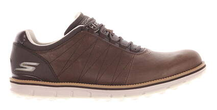 New Mens Golf Shoe Sketchers Go Golf Elite 9 Brown MSRP $100