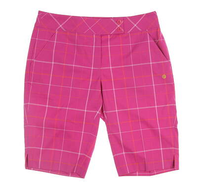 New Womens EP Pro Golf Shorts Size 6 Pink MSRP $92