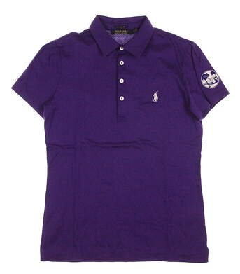 New Womens Ralph Lauren Golf Polo Small S Purple MSRP $89.50