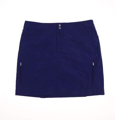 New Womens Ralph Lauren Golf Skort Size 8 Blue MSRP $125 3861696