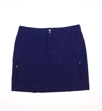 New Womens Ralph Lauren Golf Skort Size 10 Blue MSRP $125 3861696