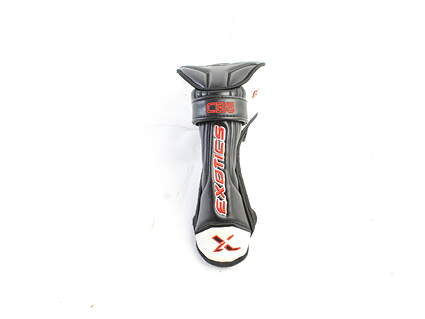 Tour Edge Exotics CB5 Hybrid Headcover Black Red and White Golf HC with Adjustable Tag