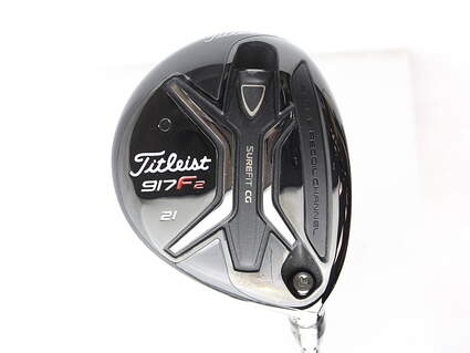 Titleist 917 F2 Fairway Wood 7 Wood 7W 21* Diamana M+ 60 Limited Edition Graphite Regular Right Handed 42 in