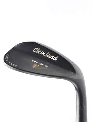 Cleveland 588 RTX Black Pearl Wedge Lob LW 58* 12 Deg Bounce True Temper Dynamic Gold Steel Wedge Flex Right Handed 35 in