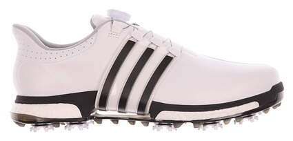 New Mens Golf Shoe Adidas Tour 360 BOA Boost 12 White/Black MSRP $230