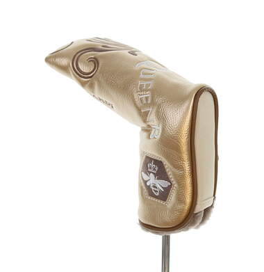 Bettinardi 2017 Queen B Blade Putter Headcover Gold/Brown/White