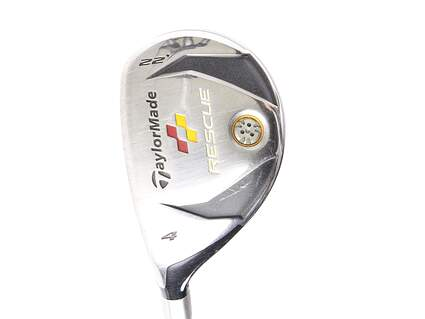 TaylorMade 2009 Rescue Hybrid 4 Hybrid 22* TM Aldila reax 65 hybrid Graphite Regular Left Handed 39.75 in
