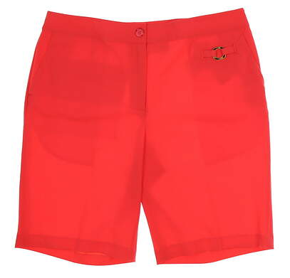 New Womens EP Pro Golf From Afar Tour Tech Tortoise Tab Detail Shorts Size 10 Red (Nectar) MSRP $50 8340HD