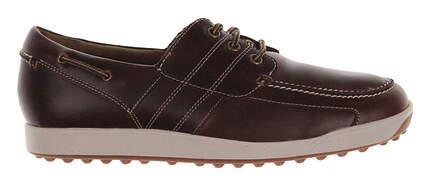 New Mens Golf Shoe Footjoy Contour Casual Medium 8.5 Black MSRP $140